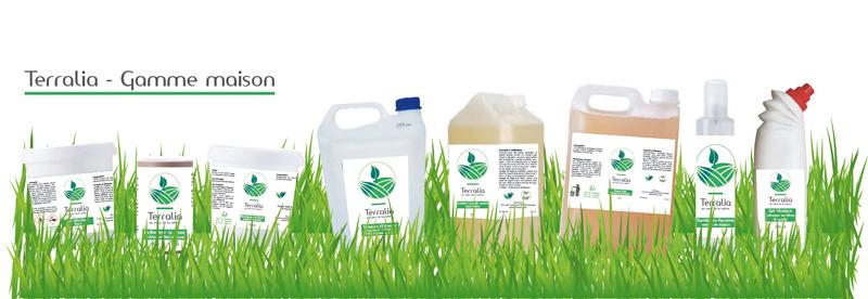gamme éco responsable, gamme produits terralia